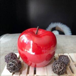 Ceramic Red Apple
